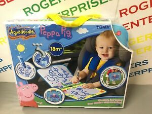 Details about Aquadoodle Peppa Pig Travel Doodle Bag - No Mess Coloring  With Pen - NEW Sealed