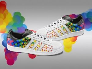 26e19de0a61b Image is loading ADIDAS-ORIGINALS-SUPERSTAR-PRIDE-PACK-POLKA-DOTS-MENS-