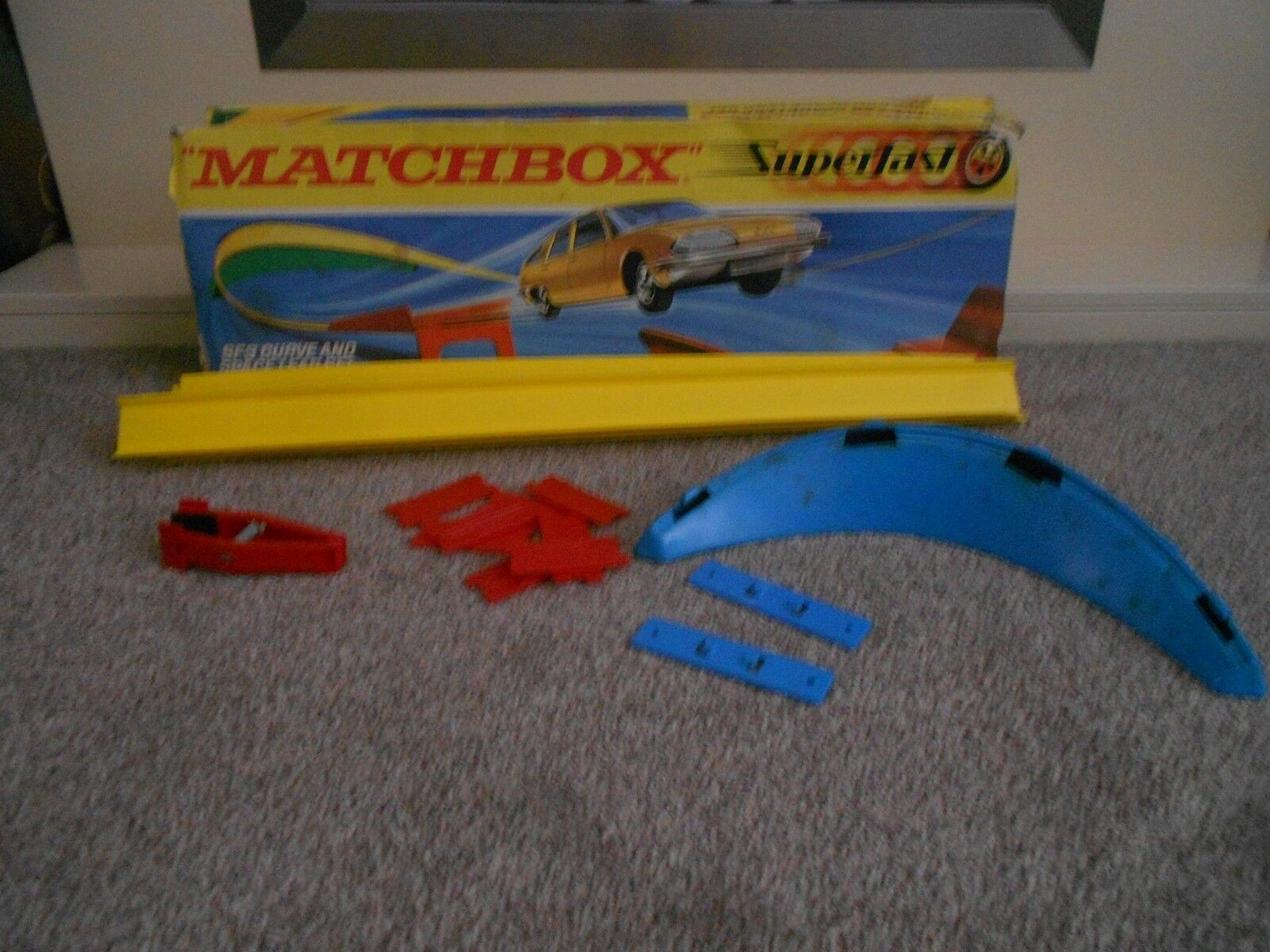 Vintage Matchbox Superfast SF-3 Curve And Space Leap Set