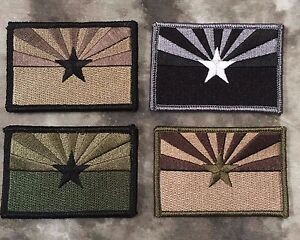 Arizona flag patch subdued store