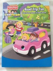FISHER-PRICE-LITTLE-PEOPLE-ROAD-TRIP-FUN-SING-ALONGS-GAMES-amp-VIDEO-STORIES-3-CD