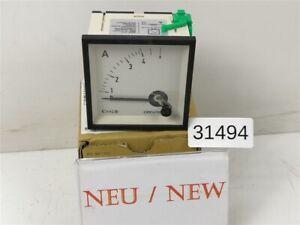 Circutor-EC72-4A-Ammeter-Panel-Meter-EC724A