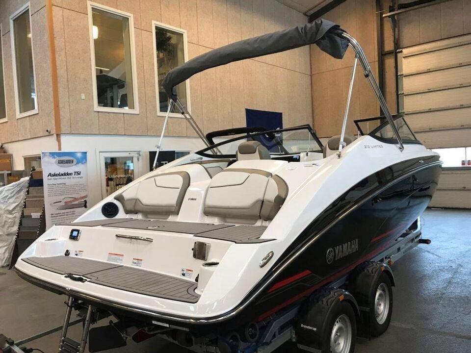 Yamaha 212 Limited m/ twin jet, Motorbåd, årg. 2018