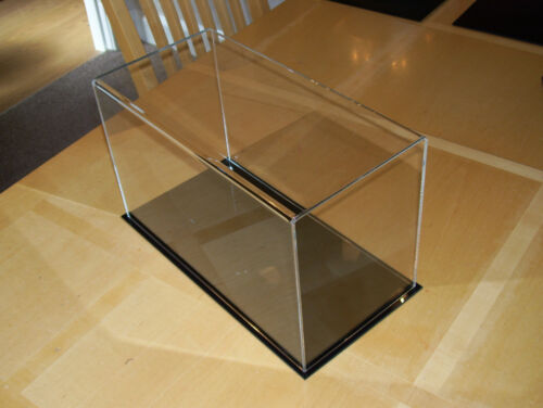 perspex acrylic model  display case 305x130x215