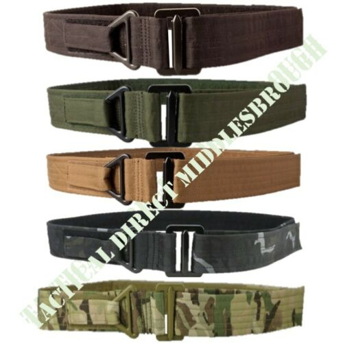 """38/"""" MTP BTP ARMY CAMO SECURITY MENS TACTICAL RIGGER BELT EXTREMELY TOUGH 30/"""""""