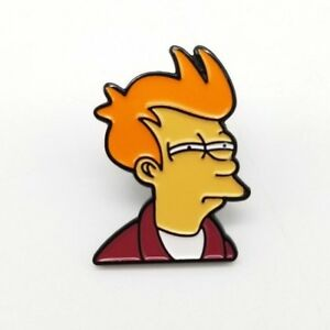 Four Futurama Button Pins 1 Inch Bender Plannet Express Slurm Can