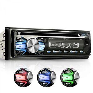 AUTORADIO-CON-LETTORE-CD-BLUETOOTH-VIVAVOCE-3-COLORI-USB-SD-AUX-MP3-SINGOLO-1DIN