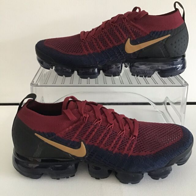 new concept 6c40d ce5d0 Nike Air Vapormax Flyknit 2.0 Team Red Wheat-Obsidian-Black Mns.9