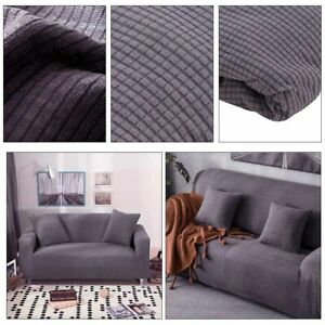 2-Seaters-Sofa-Settee-Covers-Couch-Slipcovers-Stretch-Elastic-Fabric-UK