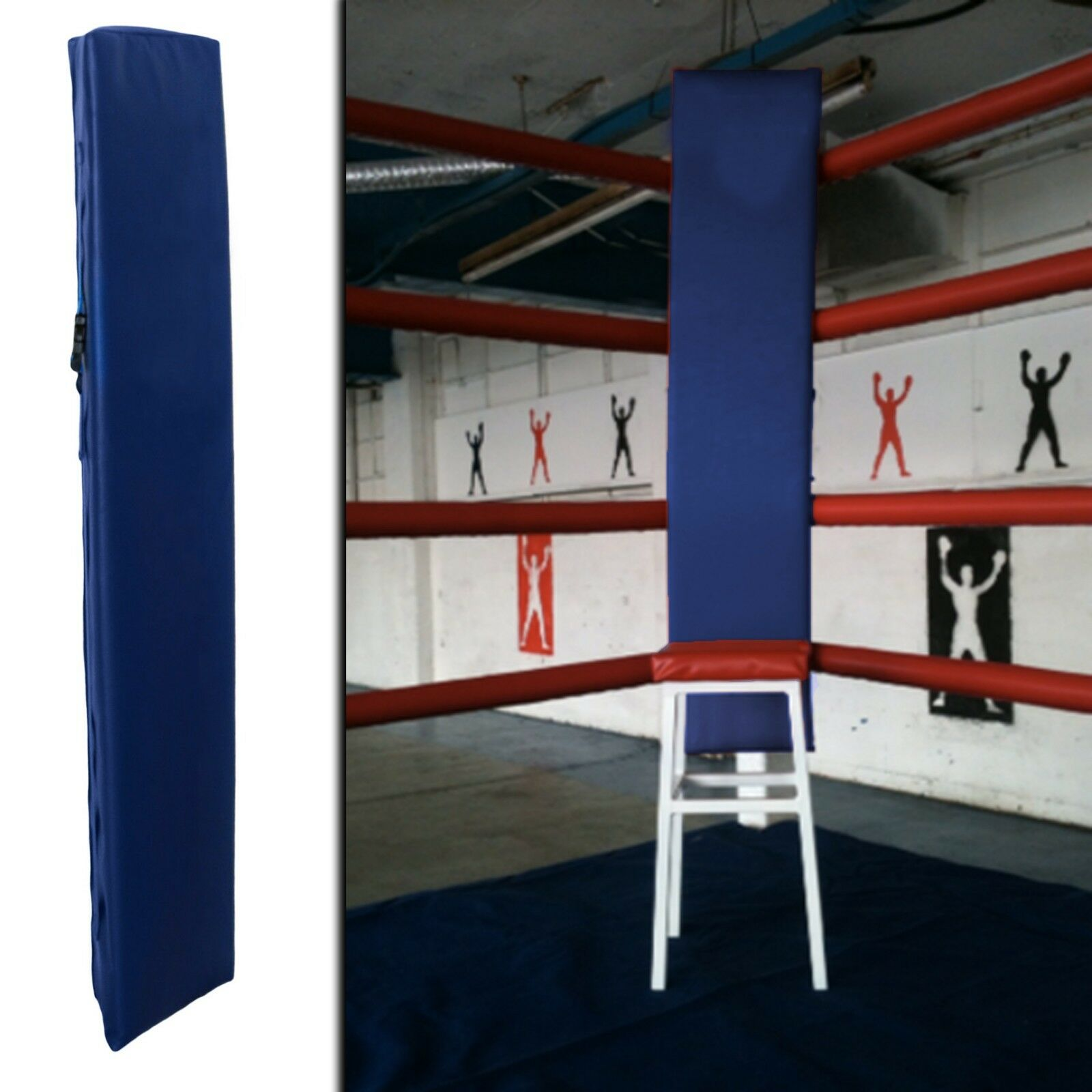Sporteq Universal Boxing Ring Ring Ring Corner Pads, 4 x 4ft  Adjustable Post Protectors 694e34