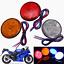 24LED-12V-Brake-Stop-Light-Motorcycle-Rear-Tail-Lamp-Round-Reflector-Light-2x thumbnail 1