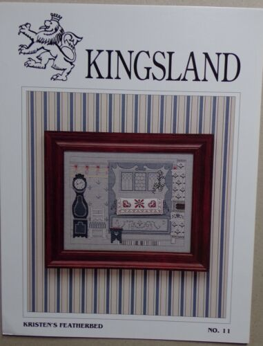 KRISTEN/'S FEATHERBED § grille originale point de croix KINGSLAND n° 11