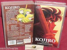 VHS MANGA-KOJIRO MOVIE/LA RIBELLIONE DI FUMA-ANIME INEDITO DVD cavalieri zodiaco