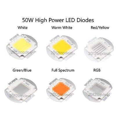 5W watts High Power SMD LED Chip COB Lamp White Red Blue Green RGB UV Lights