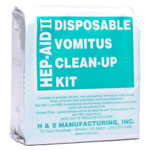 How To Clean Up Vomit >> Details About Hep Aid Ii Vomit Clean Up Kit Temp Discontinued No Orders