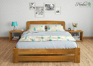 eff20e8a9b0 NODAX  New Solid Wooden Pine Super King Size Bedframe Option Drawer ...