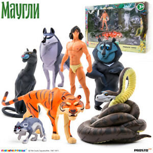PROSTO-Toys-Mowgli-Maugli-Collection-Figure-Set-7-pc-Cartoon-Character