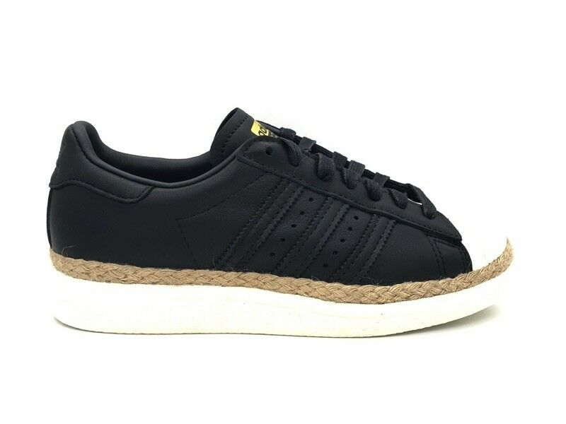 Adidas Superstar 80s New Bold W Sneakers Black Beige Cream Cq2365