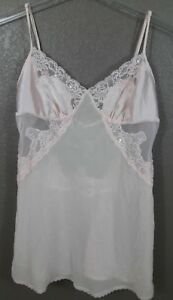 97968e02b8 Image is loading Victoria-s-Secret-Babydoll-Lingerie-Size-M-Pink-