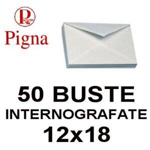 50-BUSTE-DA-LETTERA-BIANCHE-12x18-INTERNOGRAFATE-GOMMATE-CN-LEMBO-GOMMATO