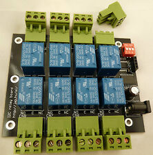 8 channel I2C IIC 5V relay module board for Raspberry Pi and Arduino UK