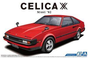 1982-Toyota-Celica-Xx-2800GT-MA61-Kit-de-Montage-Kit-1-24-Aoshima-59