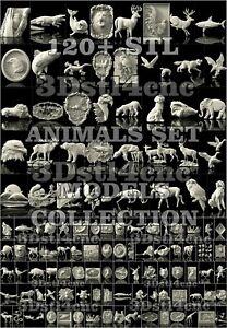 120-3D-Models-STL-for-CNC-Router-Artcam-Aspire-New-Animals-Decor-Cut3D-Vcarve