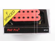 DiMarzio F-spaced PAF Pro Humbucker Pink DP 151