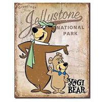 Yogi Bear Jellystone National Park Retro Tin Sign