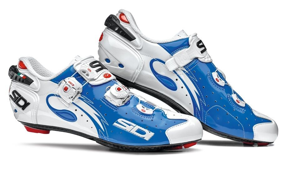 New Sidi Wire Carbon Cycling shoes, bluee  White, EU40-45  incredible discounts