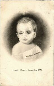 CPA-AK-Unseres-Kaisers-Kinderjahre-1831-GERMAN-ROYALTY-867475