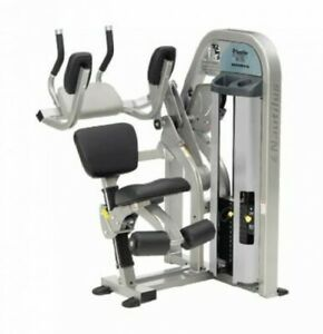 nautilus nitro abdominal gym weight stack exercise ab