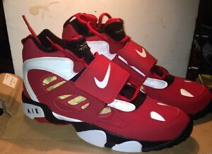 purchase cheap 89314 d12dd Details about NEW Nike Diamond Turf II 487658-610 Size 13 Deion Sanders  49ers trainer Rare