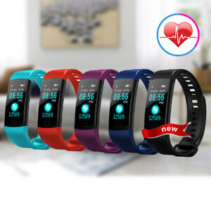 Details about Y5 Smart Band Heart Rate Monitor Watch Fitness Tracker For  Android IOS