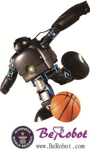 BeRobot Education Humanoid Robot DIY Kit Servo kontrollera Intelligent Companion 15D