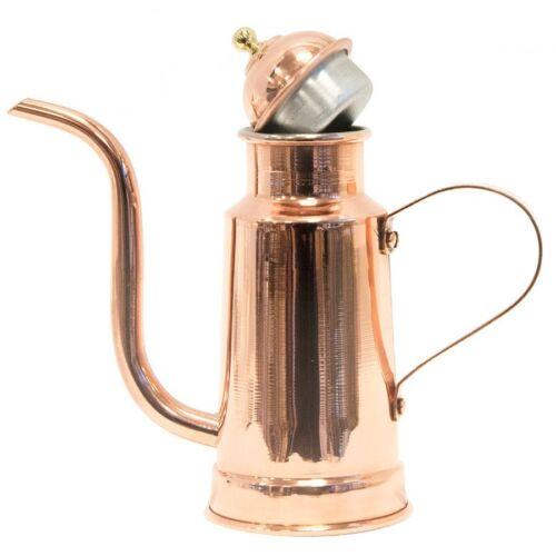OLIERA IN RAME stagnato da cucina da utilizzare Mezzo litro 3//4 litro