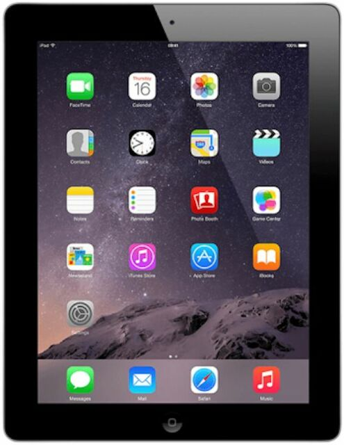 Apple iPad 2 16GB, Wi-Fi + 3G (AT&T), 9.7in - Black - (MC773LL/A)