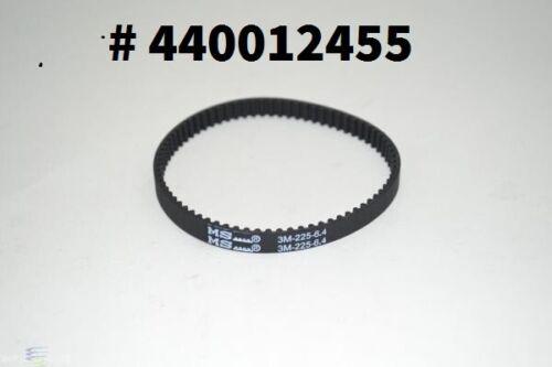 HOOVER BELT # 440012455 PowerDrive Pet High Performance Swivel Vacuum 3M 225-6.4