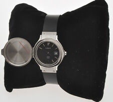 Hublot lady's steel hunting case vintage 2000 watch pristine new old stock
