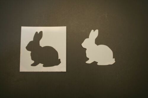 Bunny 2 Reusable Mylar Stencil Art Supplies