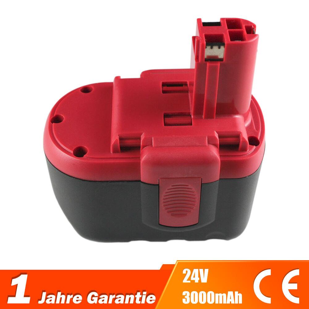 3,0Ah Akku Batterie Batterie Batterie für Bosch 13624-2G 12524-03 1645K-24 1660K-24 3924-24 BH2424 b17b67
