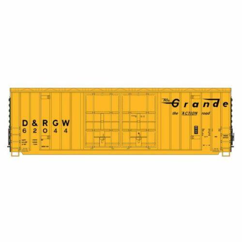 ... Intermountain 6134001-02 Gunderson 50/' High Cube Boxcar Rio Grande 62003