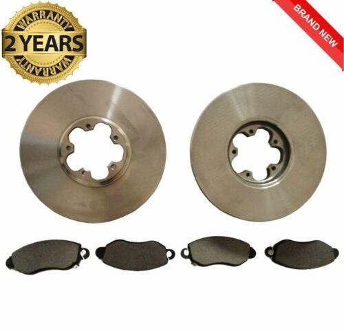 Ford Transit 2.0 mk6 Front brake discs and Pads 260 280 300 Full Set Précision 00-06