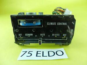 75 76 Cadillac Deville Eldorado Automatic Climate Control Dashboard Switch