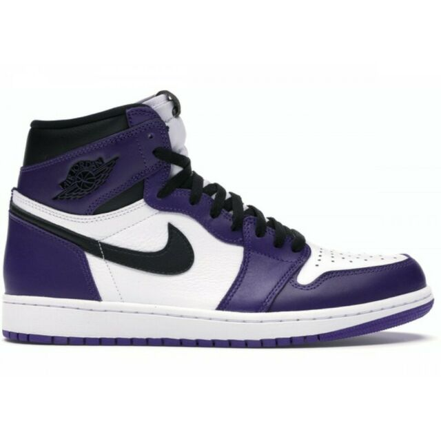 Nike Air Jordan 1 High OG Court Purple 2020 Size 10 555088-500