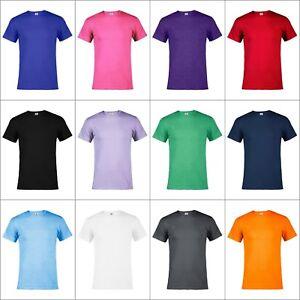 73a89782 New Delta Apparel T-shirt Adult Unisex 100% cotton Plain Men Women ...