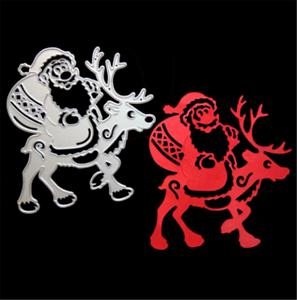 Stanzschablone Weihnachtsmann Hochzeit Oster Geburtstag Weihnachten Karte Album