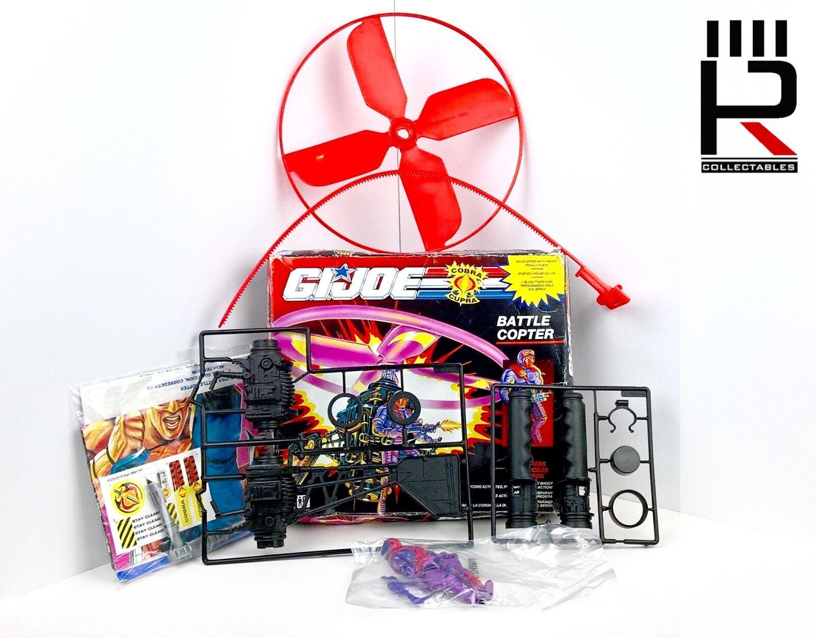 1991 Hasbro G.I. Joe: BATTAGLIA Elicottero & Heli VIPER sigillate Con Box 100% COMPLETO