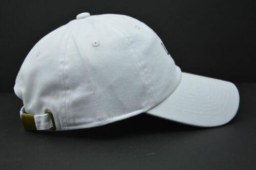 Lit  Logo Adjustable White Cotton  Novelty Cap Dad Hat