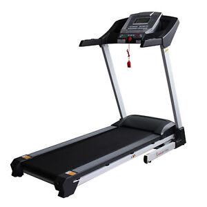 9a508488212 Treadmills Sunny Health Fitness SF-T7515 Smart Auto Incline